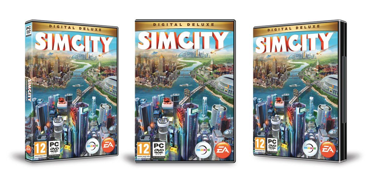 Simcity Boxart Revealed and 7 New Screenshots