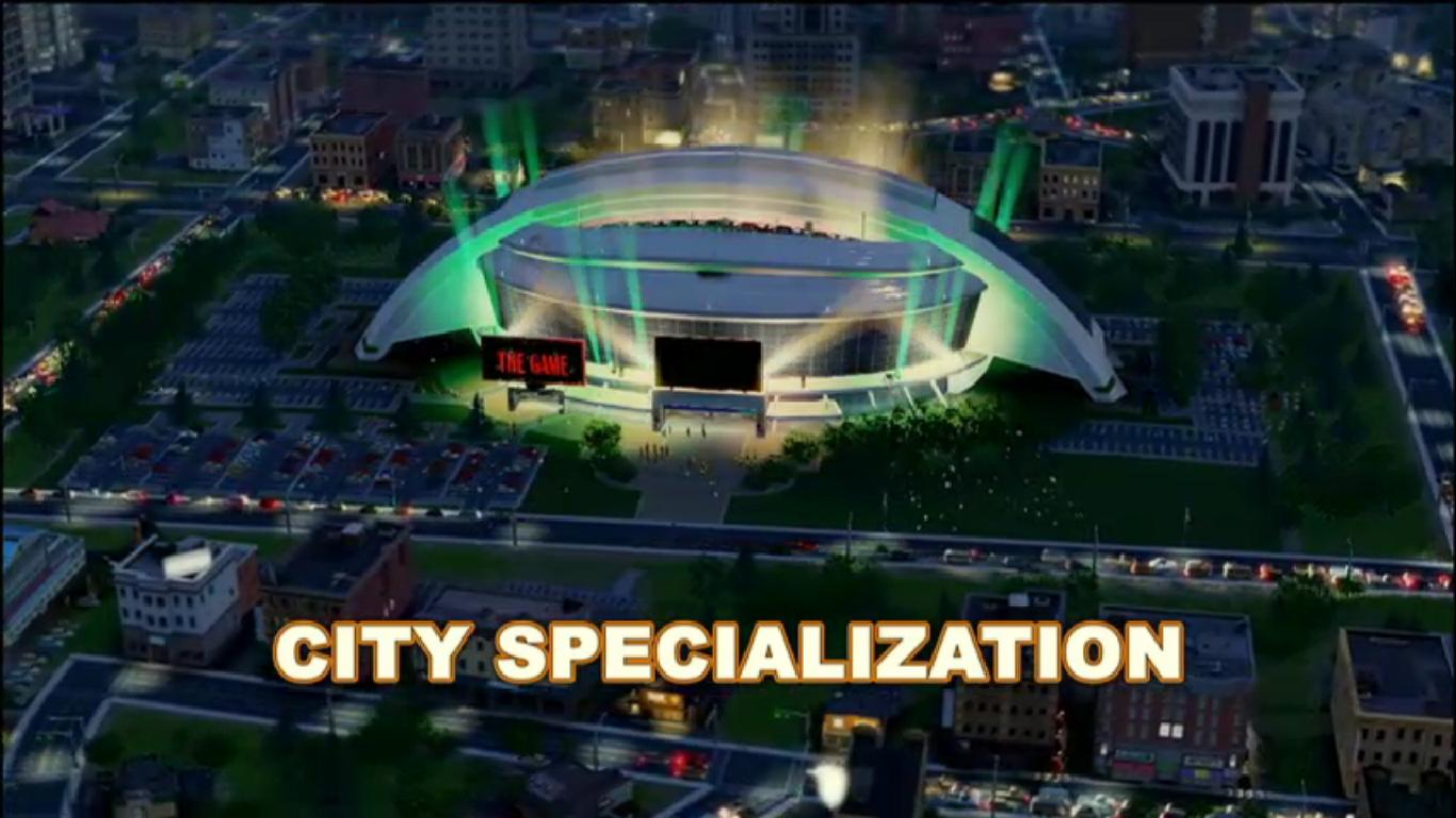 Simcity First E3 Screenshots