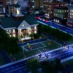 Simcity Night Screenshot