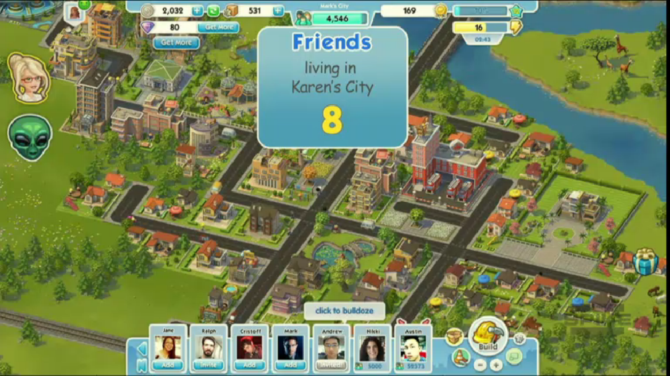 Simcity social friends facebook