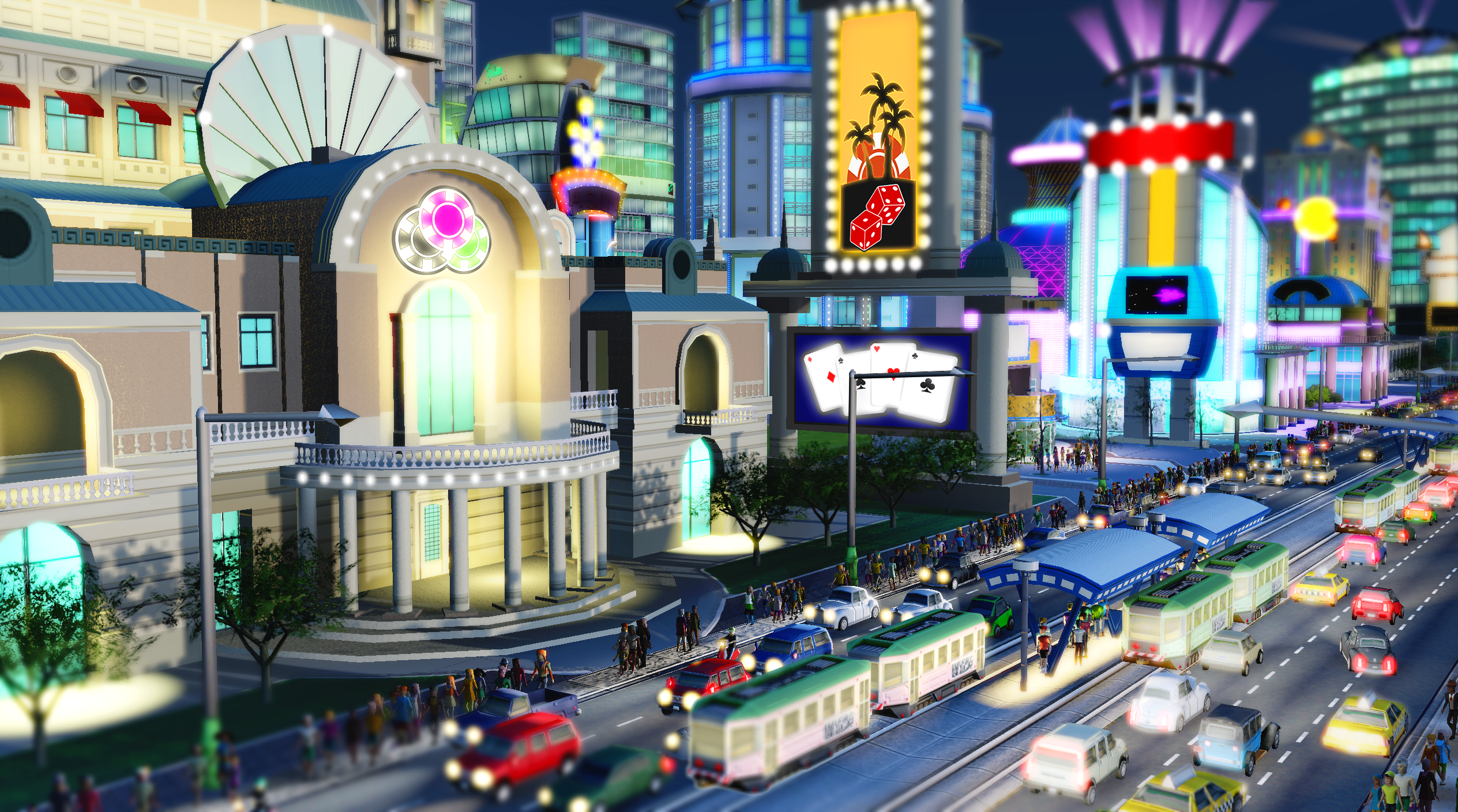 Simcity 2013: Police, Casino, and Power Building Modules