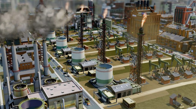 Simcity Industry
