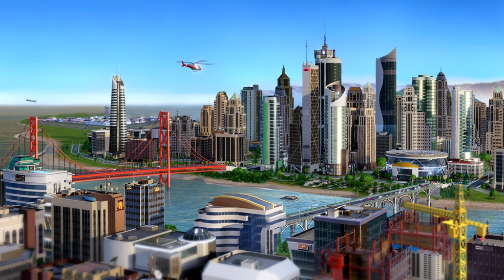 Simcity Update 4.0: New Region and Park