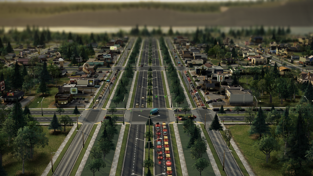 Simcity Traffic Patch 1.7 (Congestion Avoidance System)
