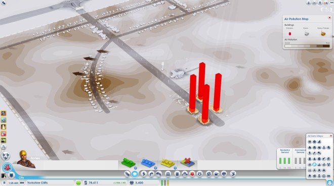 Air Pollution Simcity