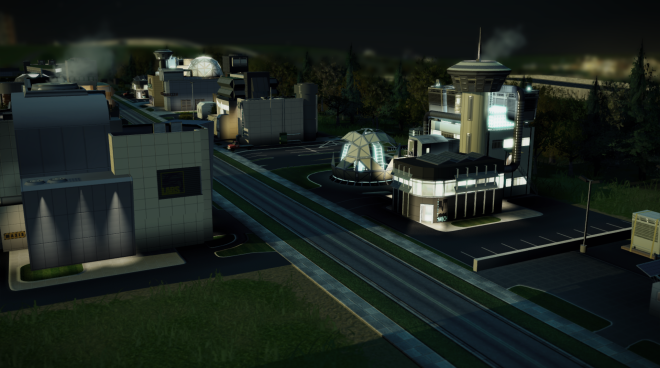 High Tech Industry Simcity