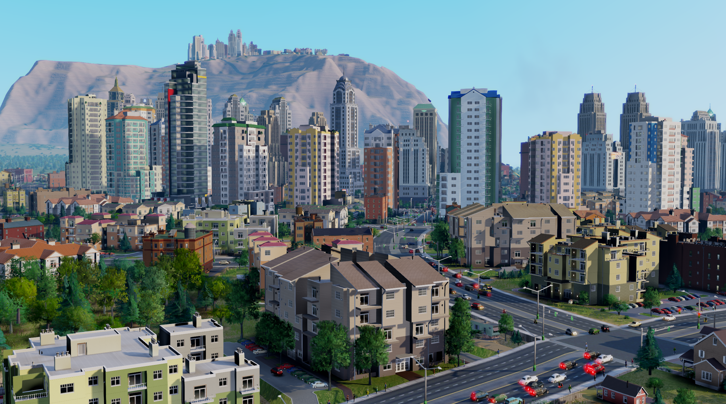 "Simcity: What it's like to play in the 16 City Region ""Viridian Woods"""