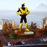 Maxis Man Statue