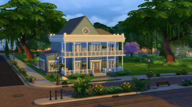 The Sims 4 Build Mode House (2)