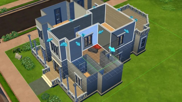 The Sims 4 Build Mode House
