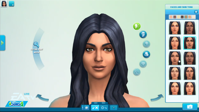 personally love the hair on this Sim. And think how rad it would ...