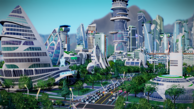 Simcity Cities of Tomorrow Academy