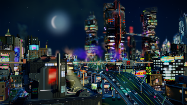 Simcity Cities of Tomorrow Corporate