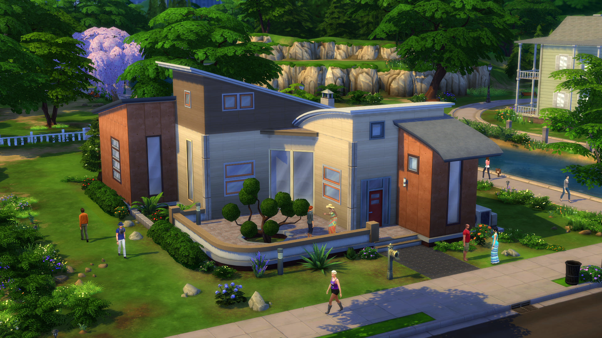 The sims 4 build mode move entire buildings with just a click simcitizens Build my home