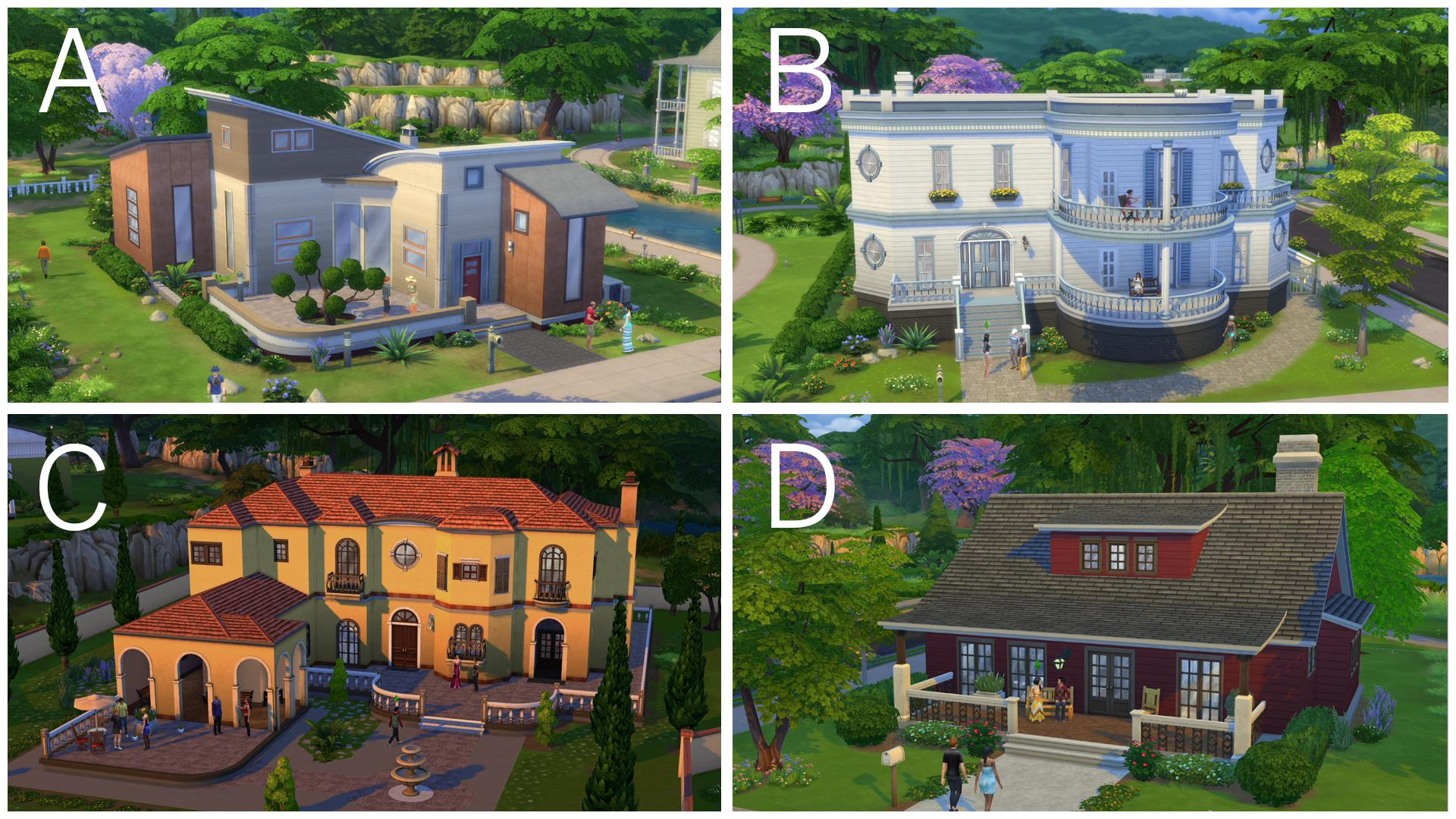 Sims 4 build mode information arriving on wednesday for Classic house sims 4