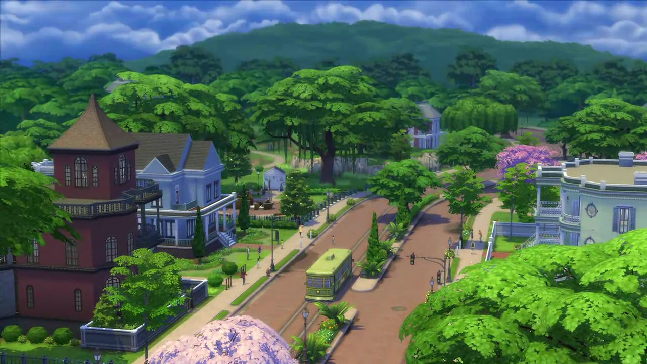 The Sims 4: Live in One World, Work in Another!
