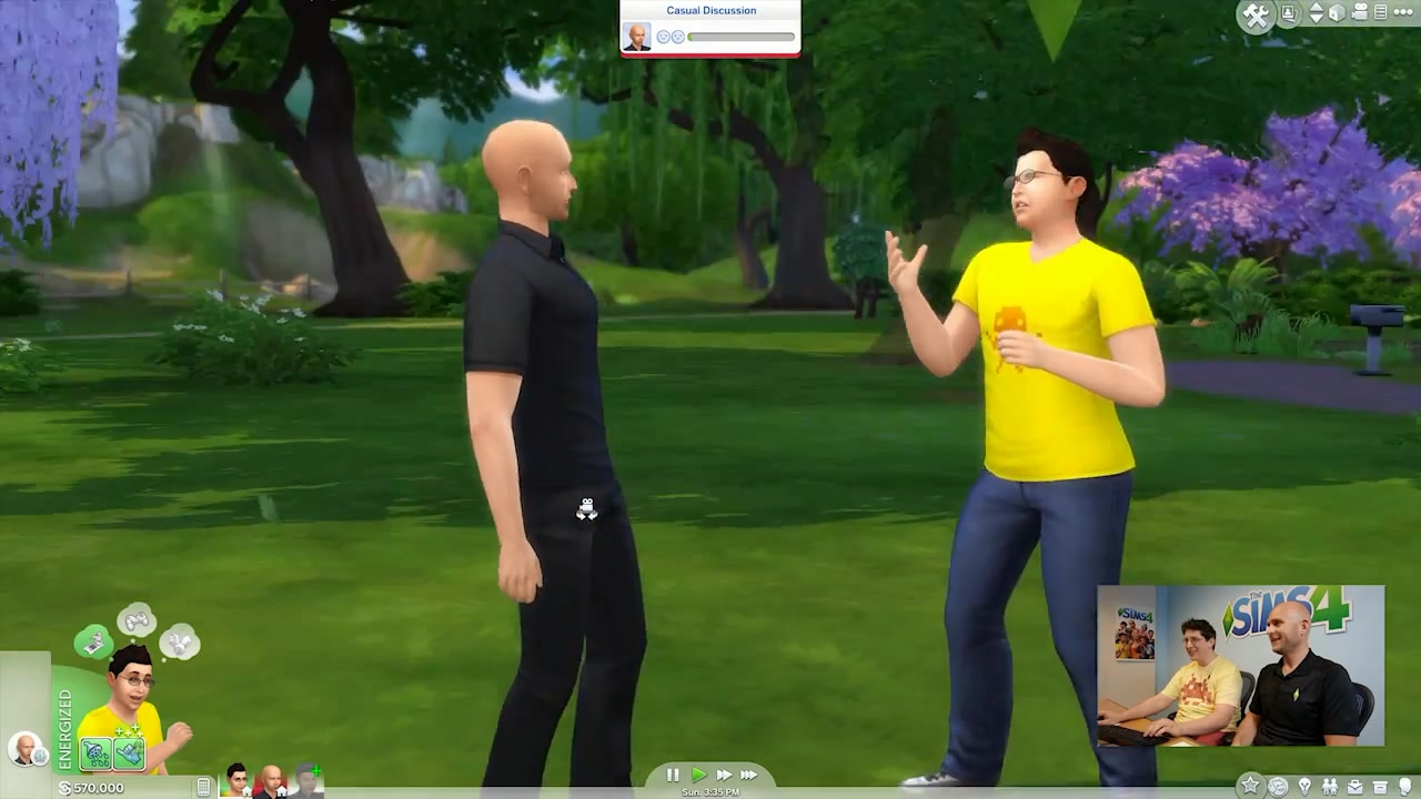 how to become energized sims 4