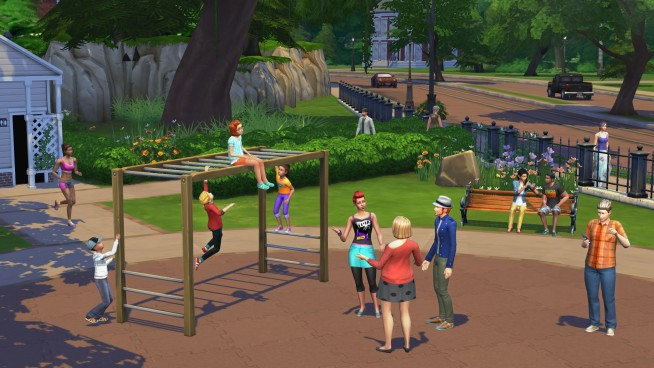 Sims 4 Park