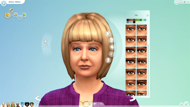 Sims 4 Angela Merkel