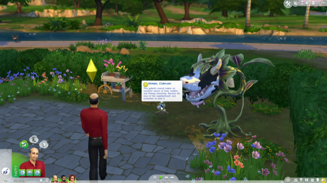 how to get the cowplant sims 4