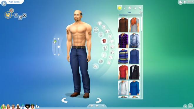 Sims 4 Peeter Moore