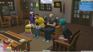 Sims 4 Penny Arcade Household