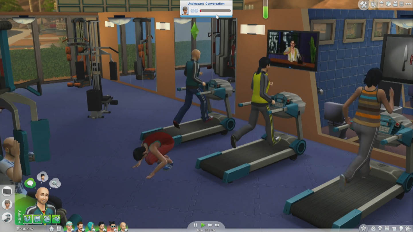 The sims live demo at pax prime simcitizens