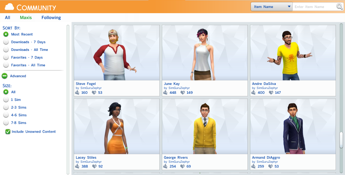 The Sims 4: Gallery CAS Demo Overview