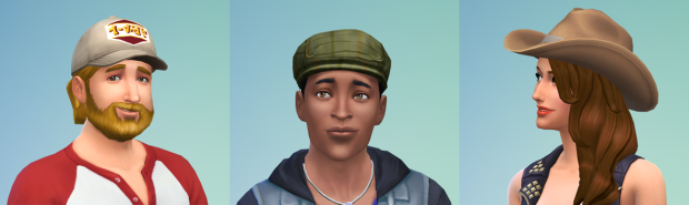 The Sims 4 Hats
