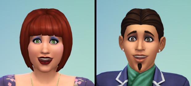 The Sims 4 Makeup