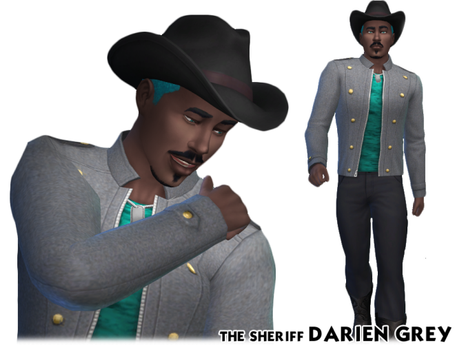 The Sims 4 The Sheriff