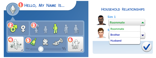 Personality Traits Genetics In The Sims 4 CAS Demo Simcitizens