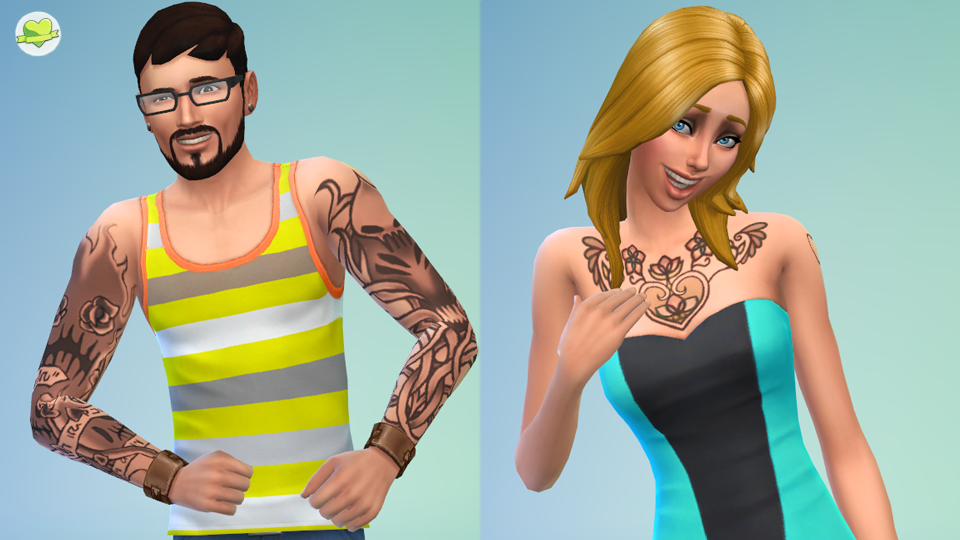 Sims 4 Create A Sim Demo: Editing The Head and Body