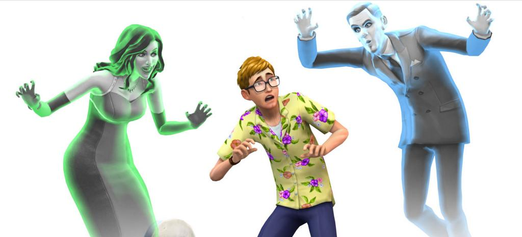 The Sims 4 Adds Ghosts For Free On October 1st!