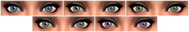 Sims 4 October Eyes