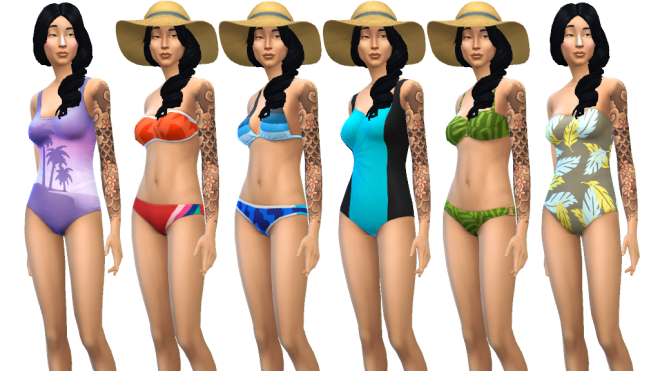 Sims 4 Female Swimwear
