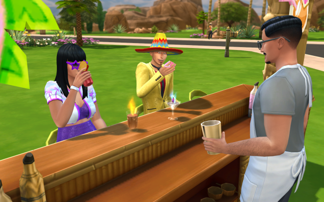 Sims 4 Life of the Party Drinks
