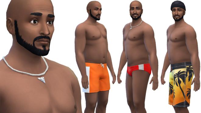 Sims 4 Male Swimwear