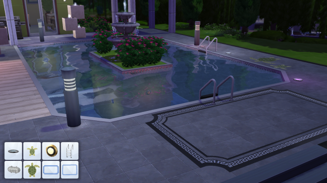 Sims 4 Pool Decor