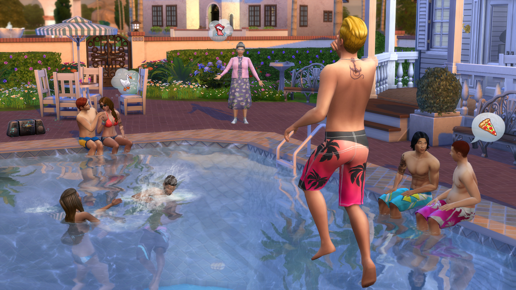 The Sims 4: The Pools Are Here!