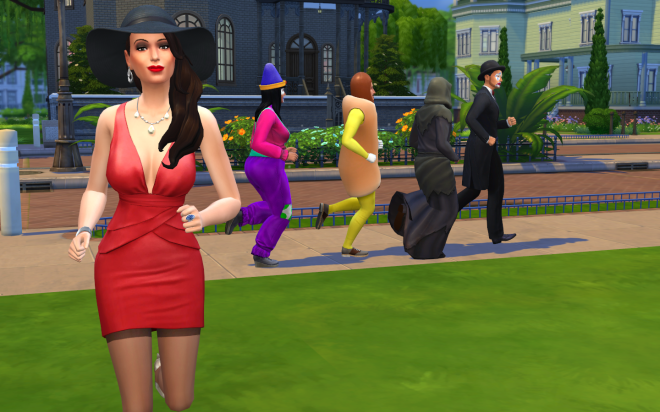 Sims 4 Up All Night Costumes 2