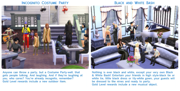 Sims 4 Up All Night Social Events