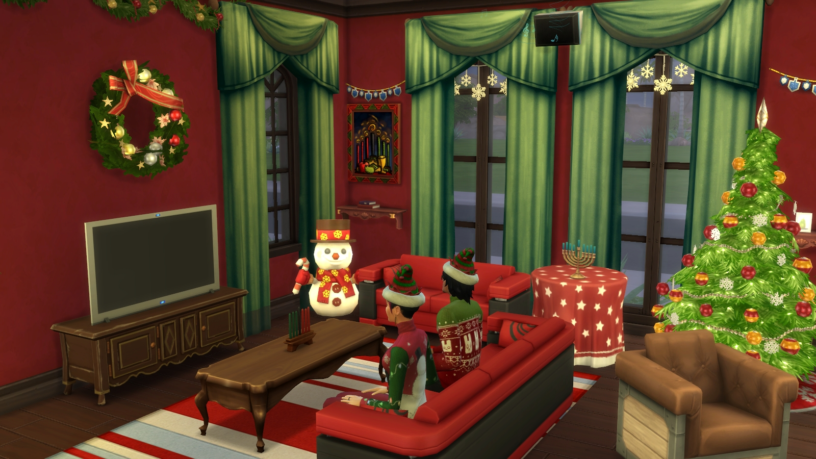 The Sims 4 Holiday Celebration Pack Object List