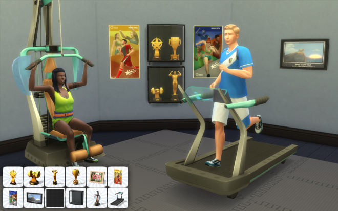 Sims 4 Athlete Rewards