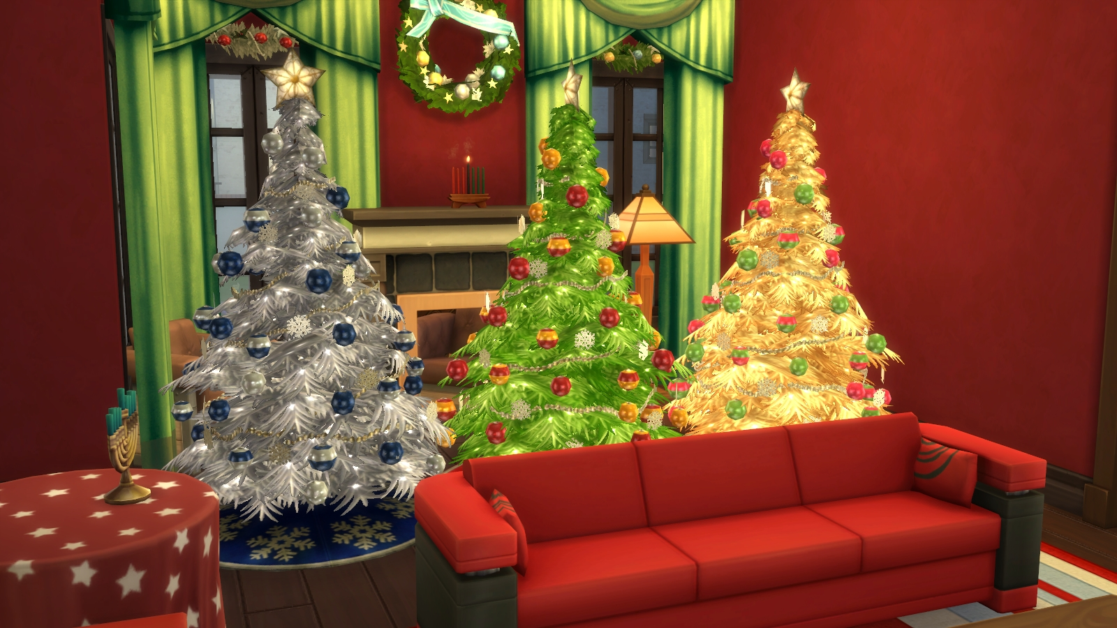 Sims 4 Christmas Tree Variations – simcitizens