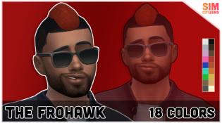 Sims 4 Frohawk Mod