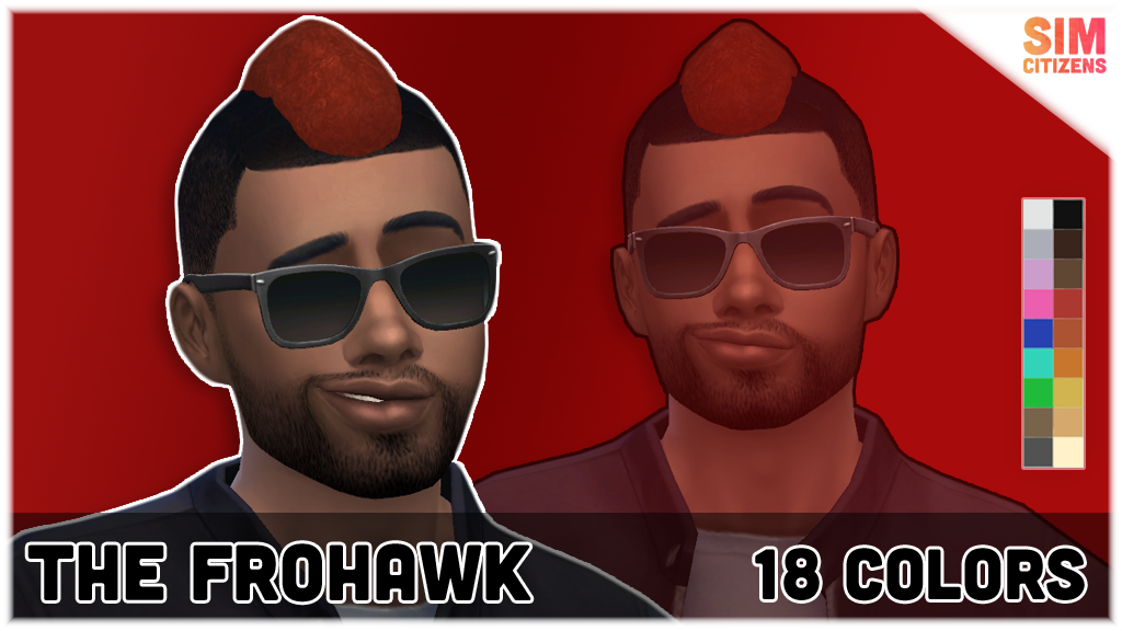 The Sims 4 Mods: The Frohawk