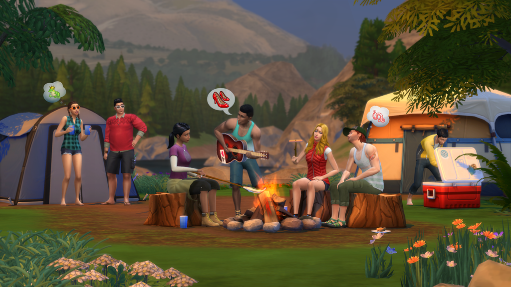 The Sims 4 Introduces Game Packs with Outdoor Retreat