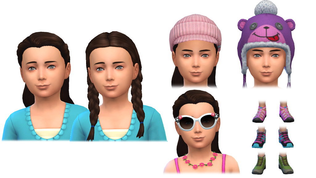 The New Clothing And Hairstyles In Sims 4 Outdoor Retreat