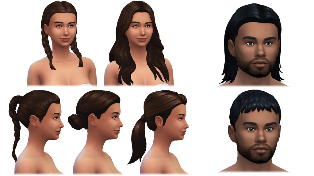 The New Clothing and Hairstyles in Sims 4 Outdoor Retreat!